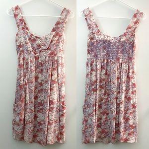 💐Cinnamon Girl Hawaii romantic roses mini dress